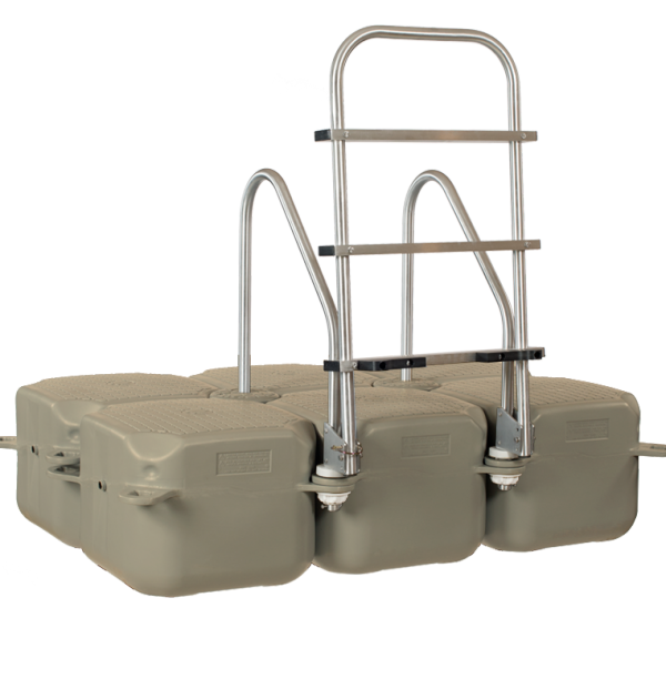 Swim ladder on Jetfloat unit