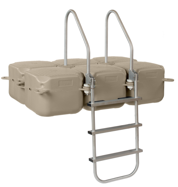 Swim ladder reversed