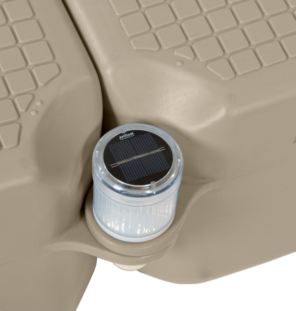 solar light accessory on maple Jetfloat