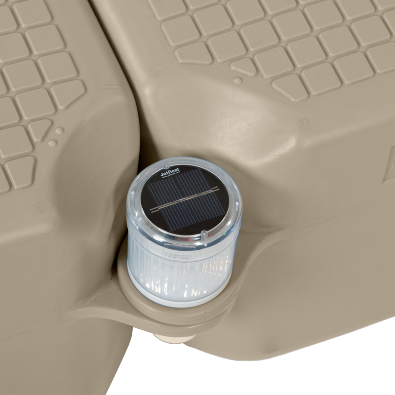 solar light accessory on maple Jetfloat